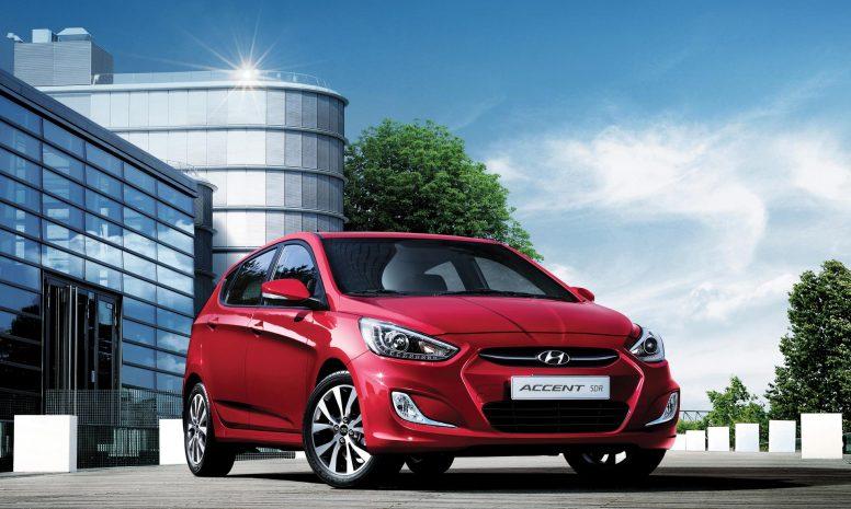 Hyundai Accent Hatchback H/L Exclusive 2019