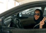 لأول مرة فى التاريخ، السيدات السعوديات يحصلن على حق إستخراج رخصة قيادة سيارة بموجب مرسوم ملكي