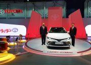 تويوتا تطلق كامري هايبريد الجديدة كلياً فى معرض دبي الدولى للسيارات