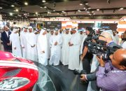 إنطلاق معرض دبي الدولي للسيارات فى دورته الرابعة عشر من اليوم ولمدة خمسة أيام