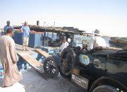زوجان يدوران حول العالم في سيارة فورد Model T كلاسيكية ومصر كانت إحدي المحطات