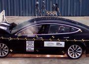 تسلا Model 3 . . أفضل سيارة على الاطلاق في اختبارات الأمان الأمريكية