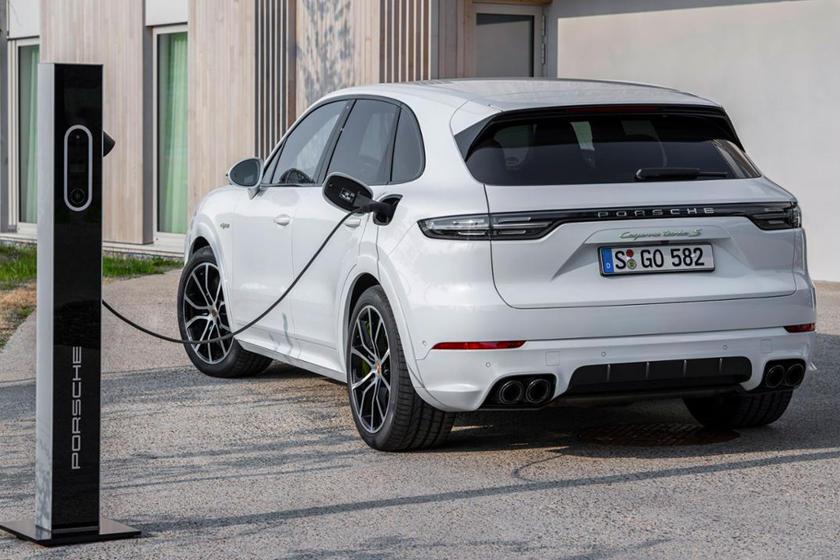 بورشة كايين 2020 Porsche Cayenne Turbo S E-Hybrid