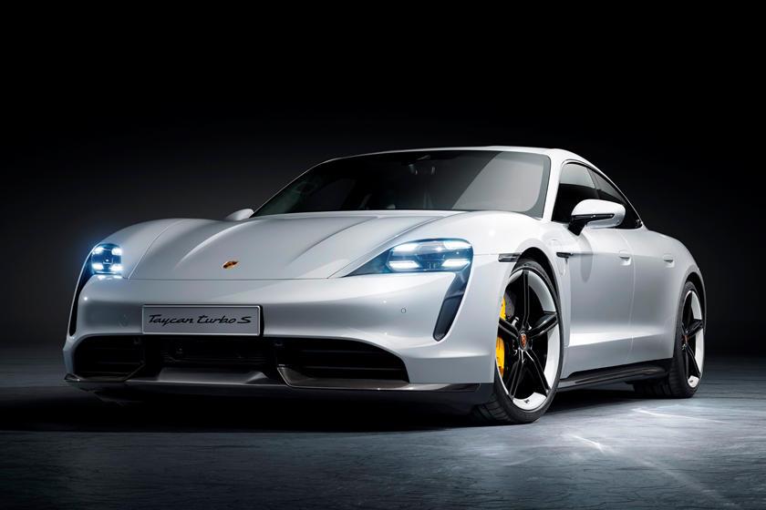 بورشة تايكان الكهربائية Porsche Taycan
