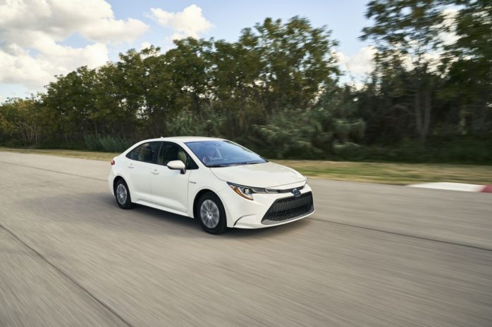 Toyota Corolla Hybrid Full Options 2020