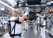 عمال أودي يستخدمون هياكل الدعم الخارجية في ألمانيا