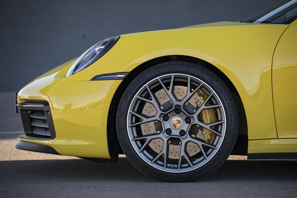 بورش 911 2020 عجلات