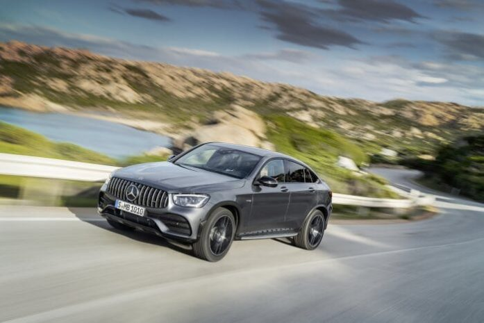 Mercedes-Benz GLC Coupe 43AMG 4Matic 2021