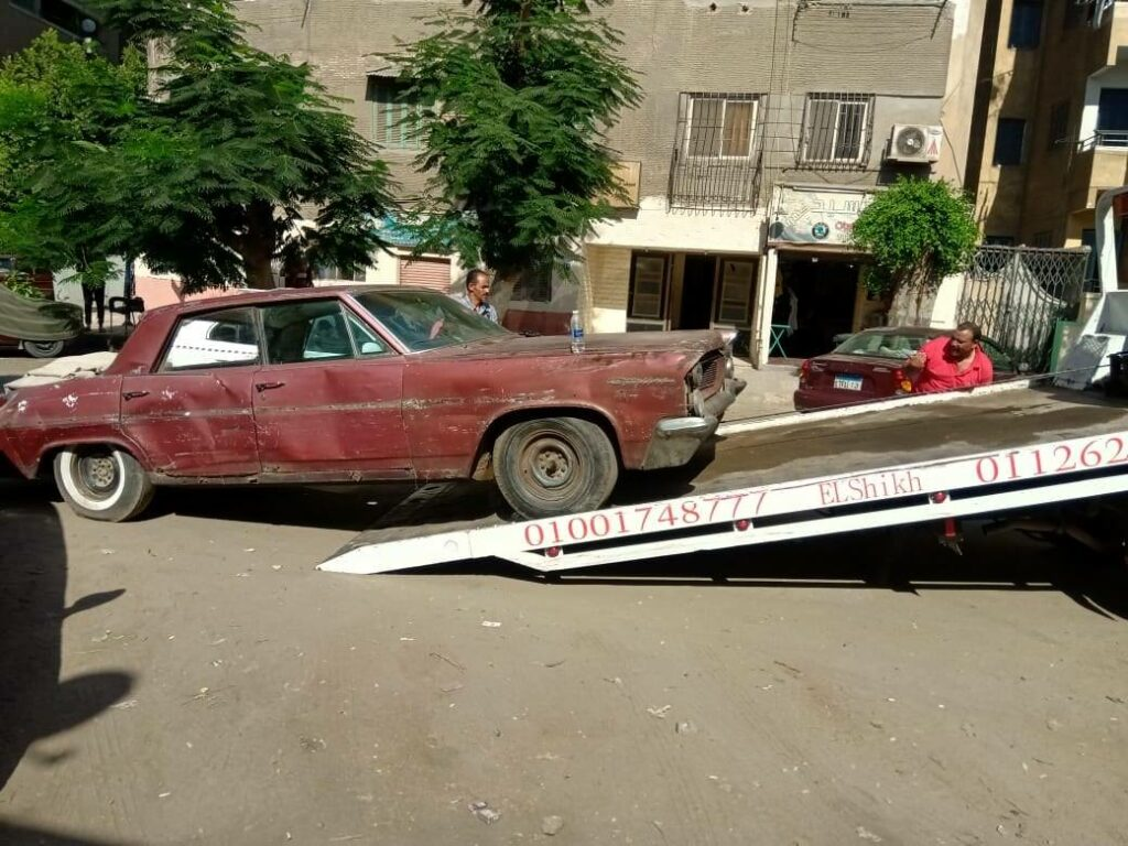 قصة تحويل بونتياك Catalina متهالكة لسيارة جديدة بالكامل في مصر
