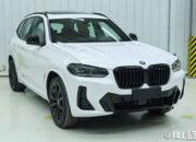 صور لـ BMW X3 و iX3 الجديدتان من الصين
