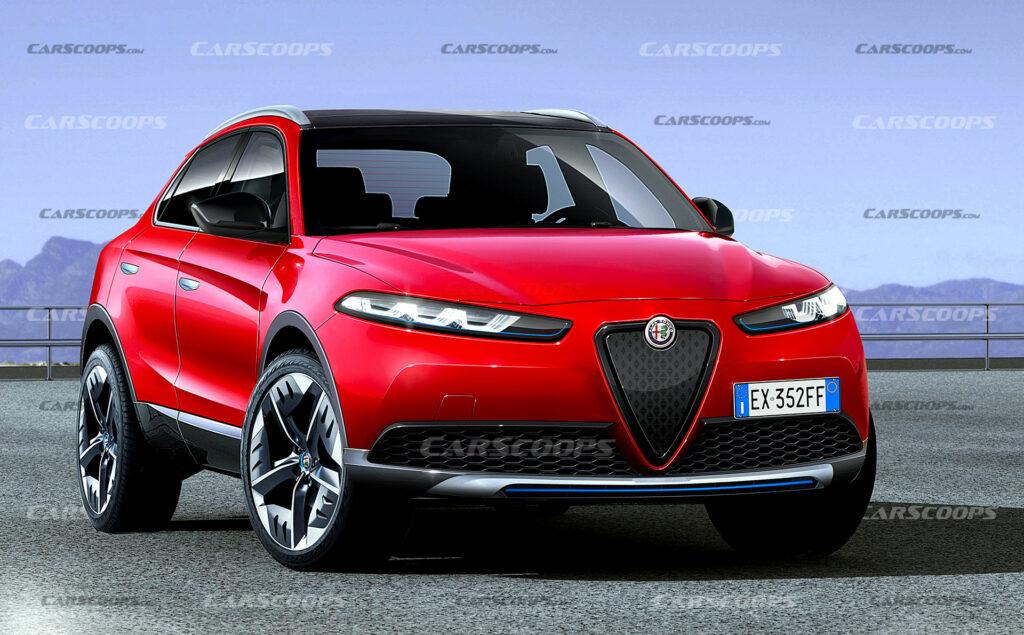 ألفا روميو بالادي 2022 . . سيارة جديدة كهربائية SUV مرتقبة
