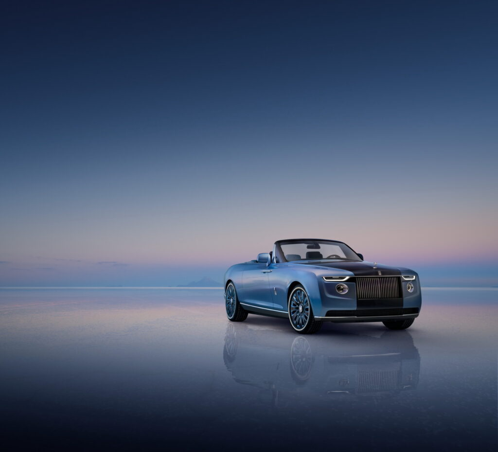 رولزرويس Boat Tail . . أغلي سيارة جديدة في العالم