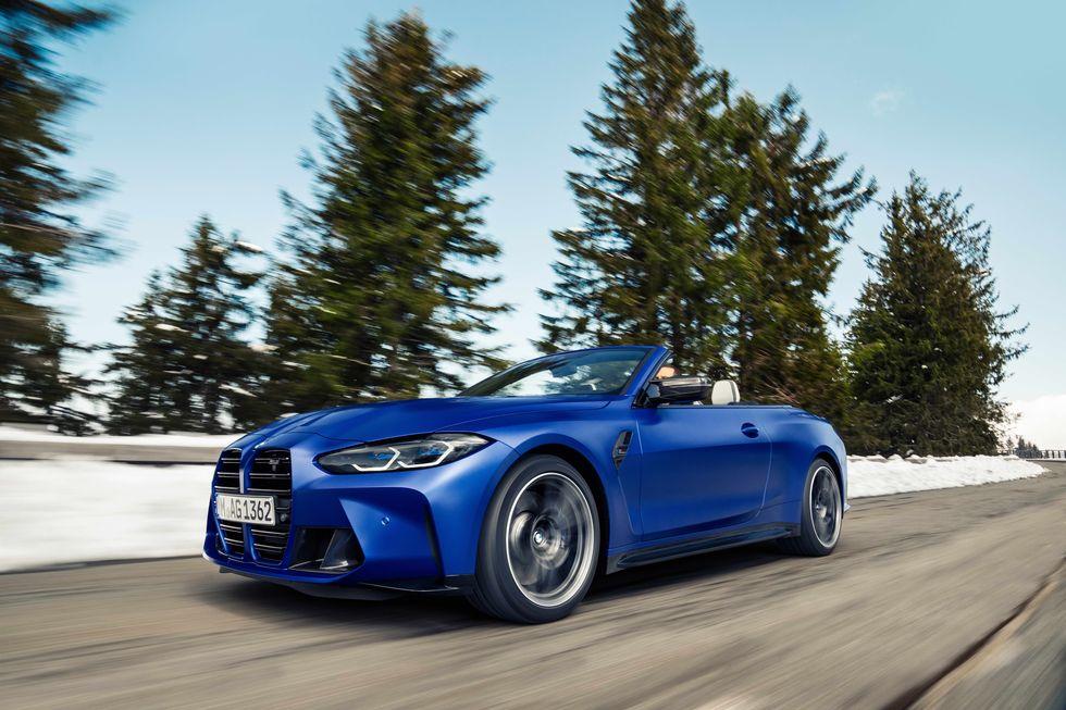 BMW M4 Competition المكشوفة .. بدون سقف صلب وبقوة وسرعة أكبر