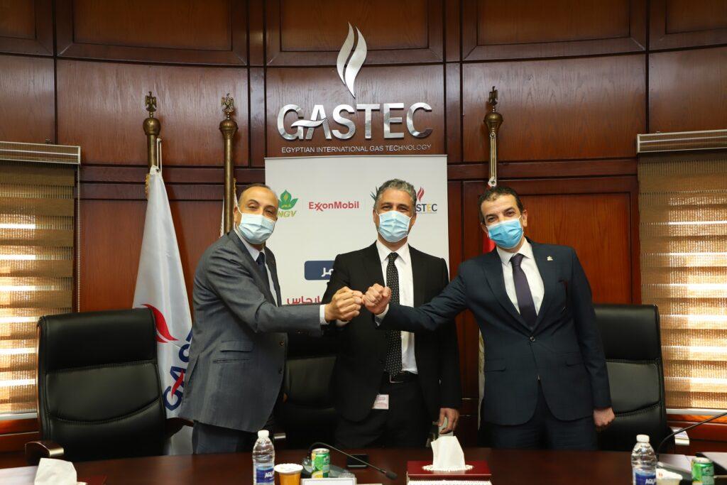 """إكسون موبيل مصر توفر الغاز بمحطات """"موبيل"""" مع غازتك وكارجاس"""