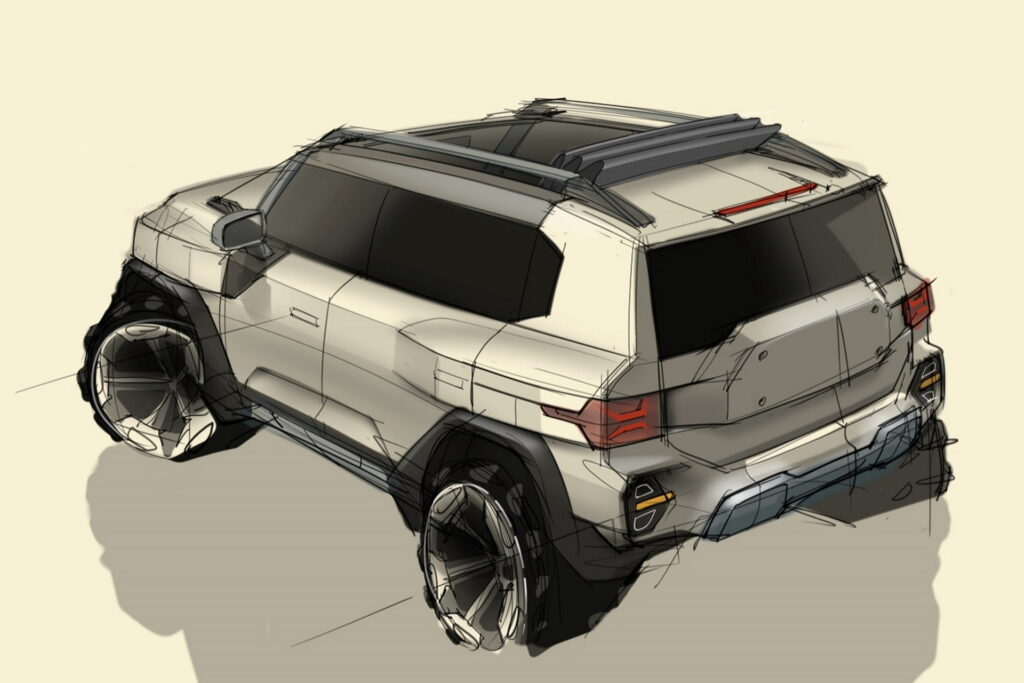 سانج يونج 2022 تكشف عن تصميم الجيل التالي من سيارات الـSUV