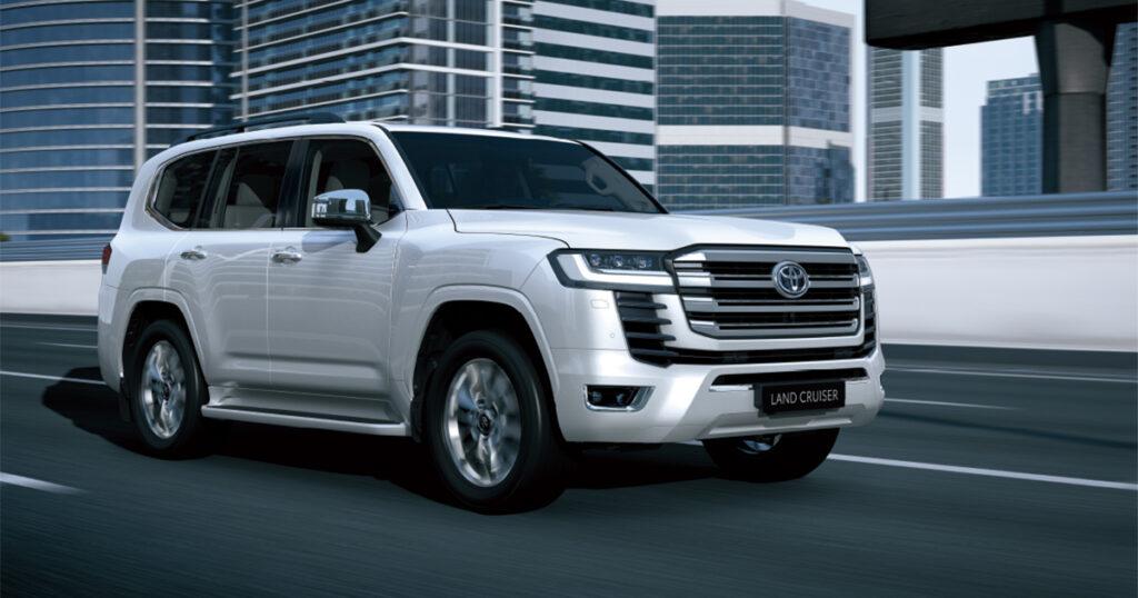 لاندكروزر - هام لمشتري تويوتا لاندكروزر الجديدة منع إعادة بيع السيارة