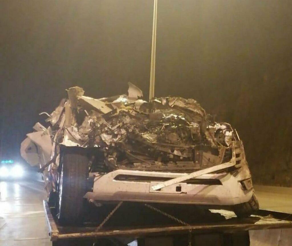 حادث لتويوتا لاندكروزر