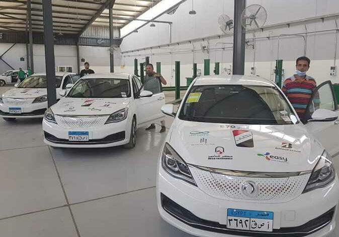 اختبار سيارة النصر E70 مصر تبدأ اختبار أول سيارة كهربائية لها بالتعاون مع أوبر