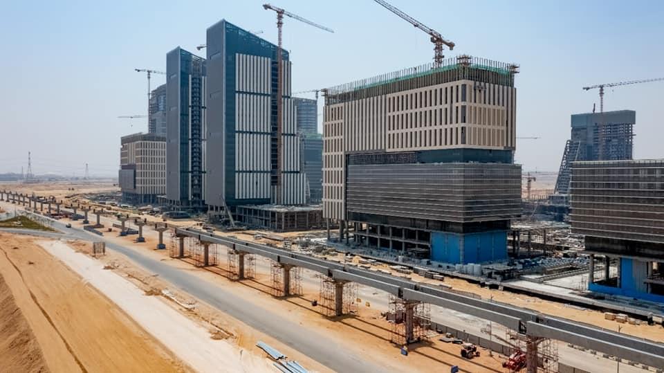 مشروع مونوريل العاصمة الإدارية الجديدة
